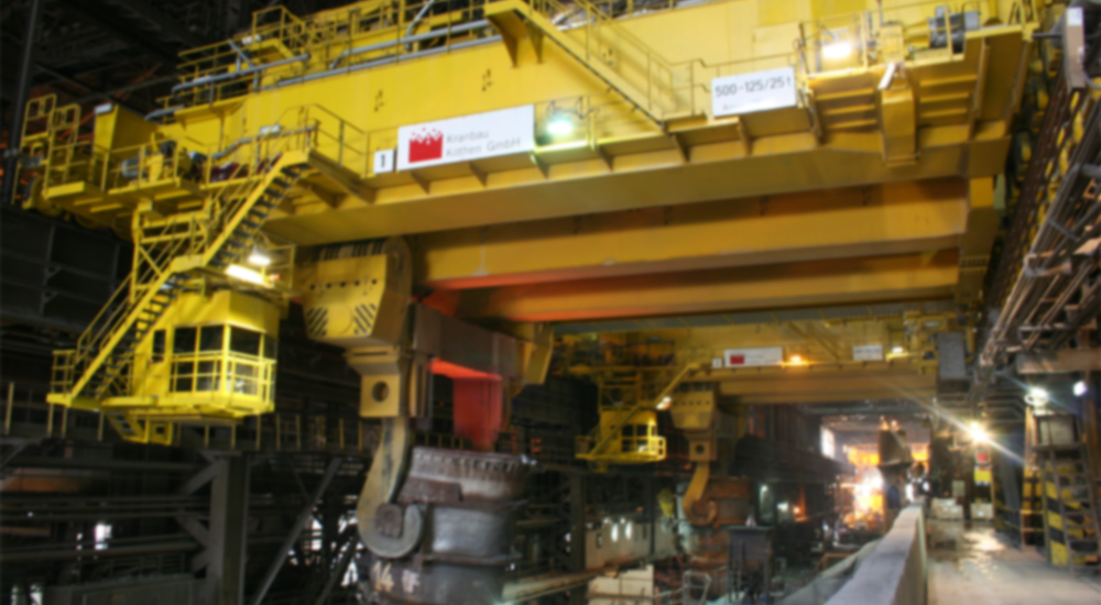 Cranes for process applications